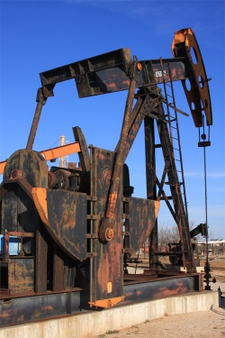 Old Stuff From The Oil Fields Pumping Jacks