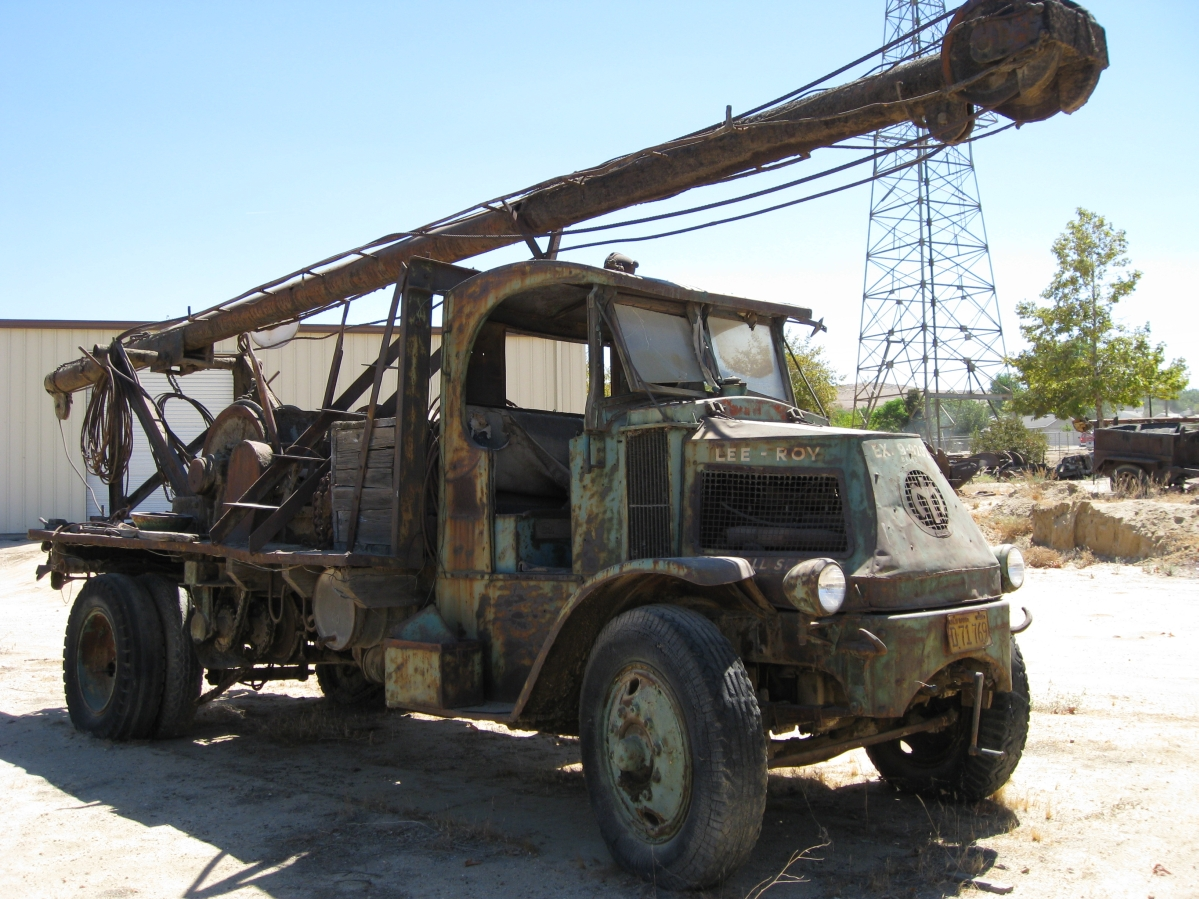 Old Stuff from the Oil Fields - Old Trucks & Trailers
